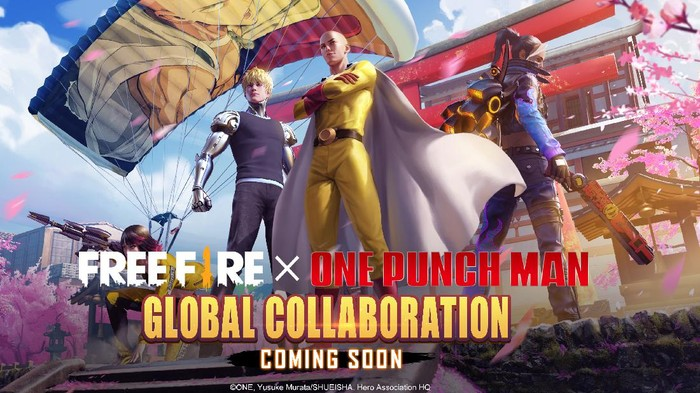 Kolaborasi Global Free Fire X One Punch Man