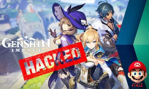 genshin impact hacked