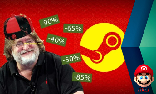 Gong Xi Fat Choi! Steam Gelar Lunar New Year Sale!