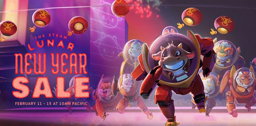 Gong Xi Fat Choi! Steam Gelar Lunar New Year Sale!