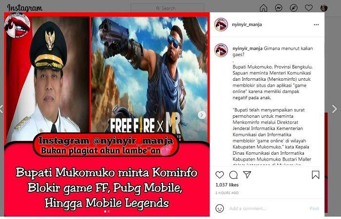 Nasib PUBG Mobile, Free Fire dan Mobile Legends Hampir Final