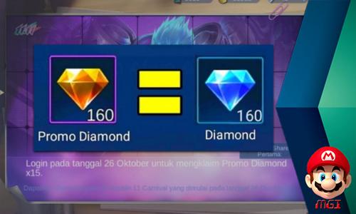 Guys!! Diamonds Kuning Free Siap Hadir Lagi di Mobile Legends